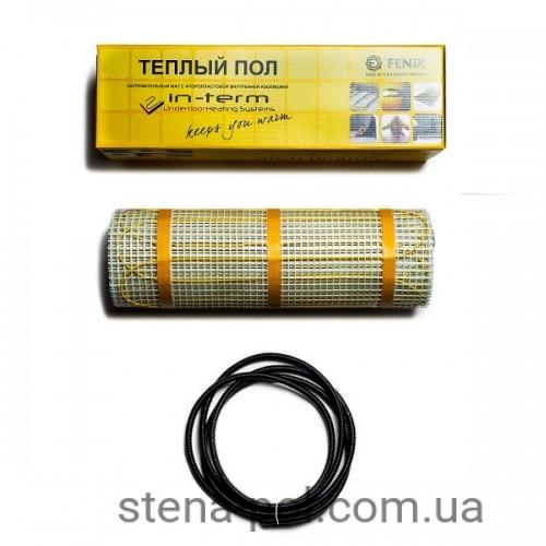 Нагревательный мат In-term 12,8 м / 6,4 м² / 1300 Вт