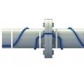 Кабель для обогрева труб (со встроенным термостатом и вилкой) Hemstedt 12 м / 120 Вт