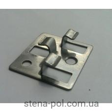 Клипса металлическая 40х36 мм (Н=5-6)