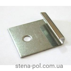 Клипса металлическая стартовая 32х30 мм