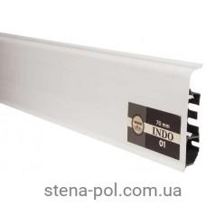 Плинтус Arbiton INDO 01 Белый Глянец