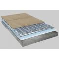 Алюминиевые маты In-term под ламинат,паркетную доску 2,5 м²  / 375 Вт